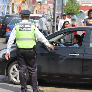 Manifestación policial